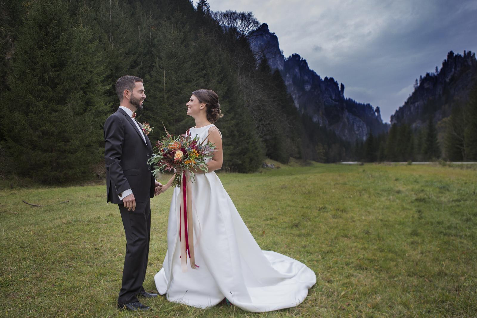 kvalitné svadobné šaty rosa clara  - Obrázok č. 4