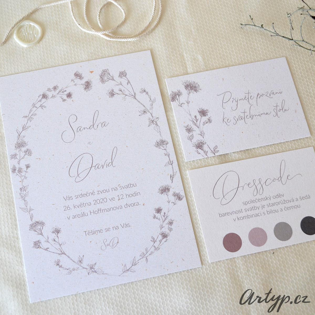 Svatební oznámení - Obrázek č. 1