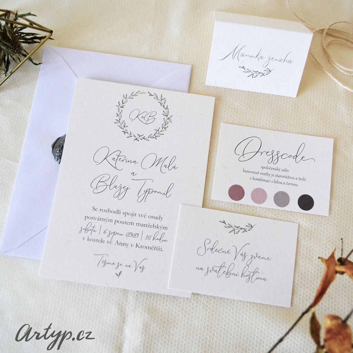 Svatební oznámení - Obrázek č. 4