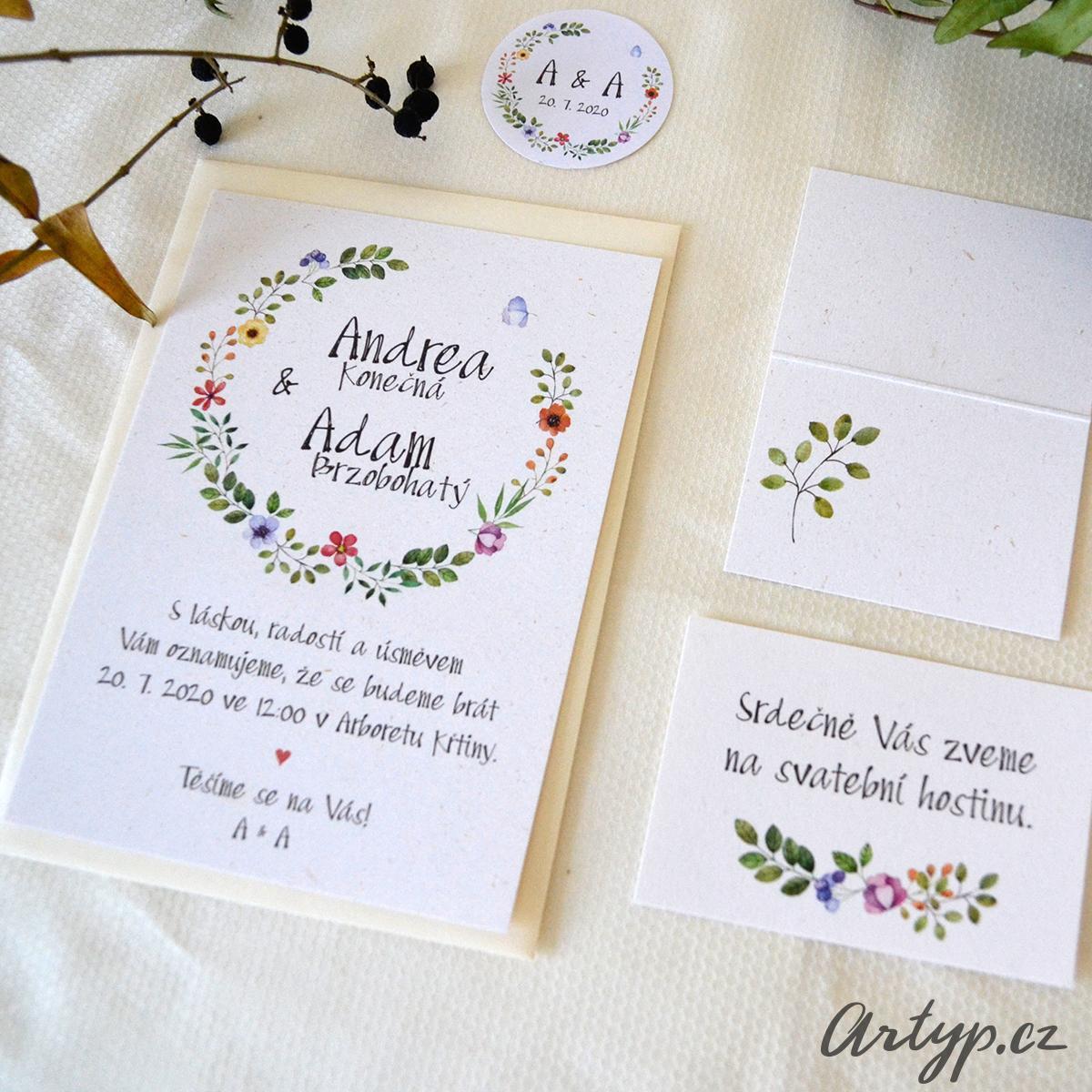 Svatební oznámení - Obrázek č. 5