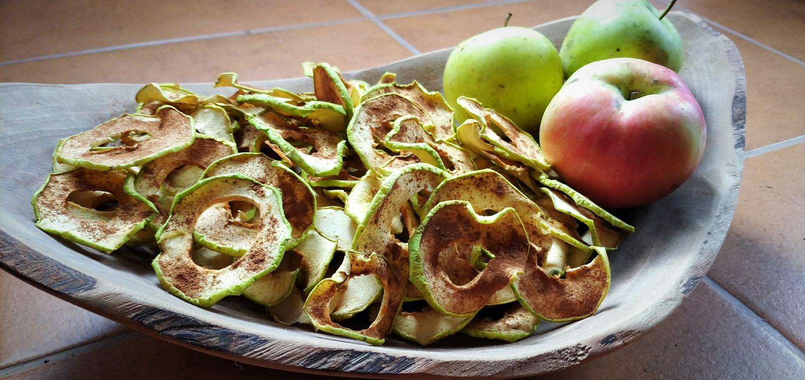 Sušené jablká - Obrázok č. 1