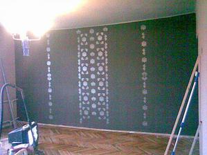 stena v obývačke