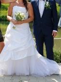 Svatební šaty, vel 38-40, Praha, 38