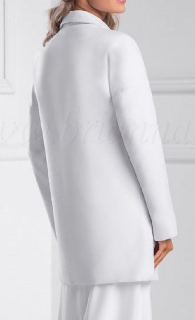 kabát biely - Obrázok č. 4