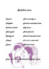 Svadobne menu....(asi len inšpirácia)