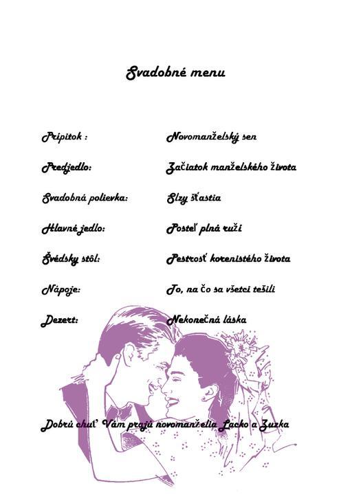 05.05.2012 - Svadobne menu....(asi len inšpirácia)