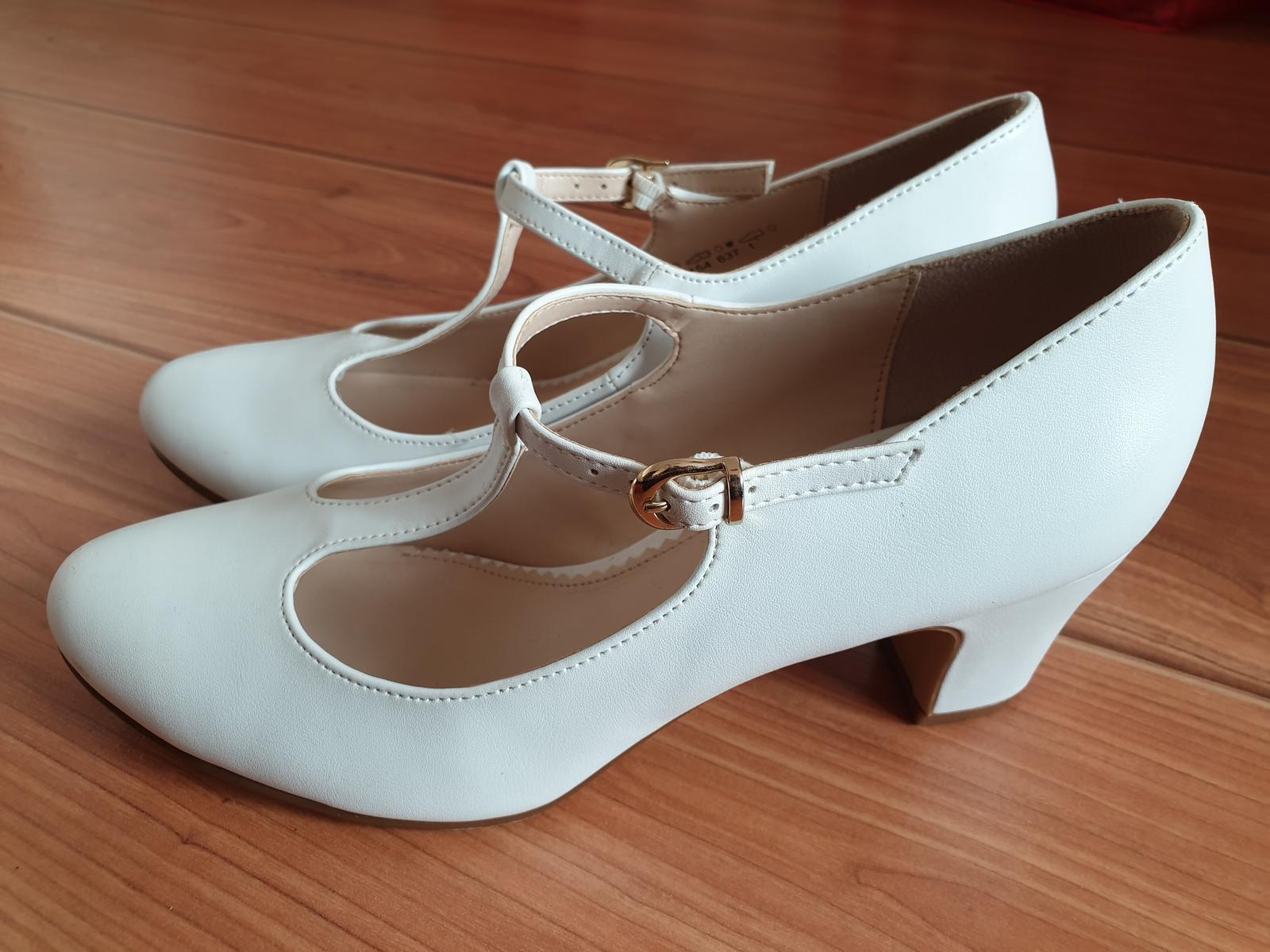 Predám svadobné topánky Graceland veľkosť 38 - Obrázok č. 1