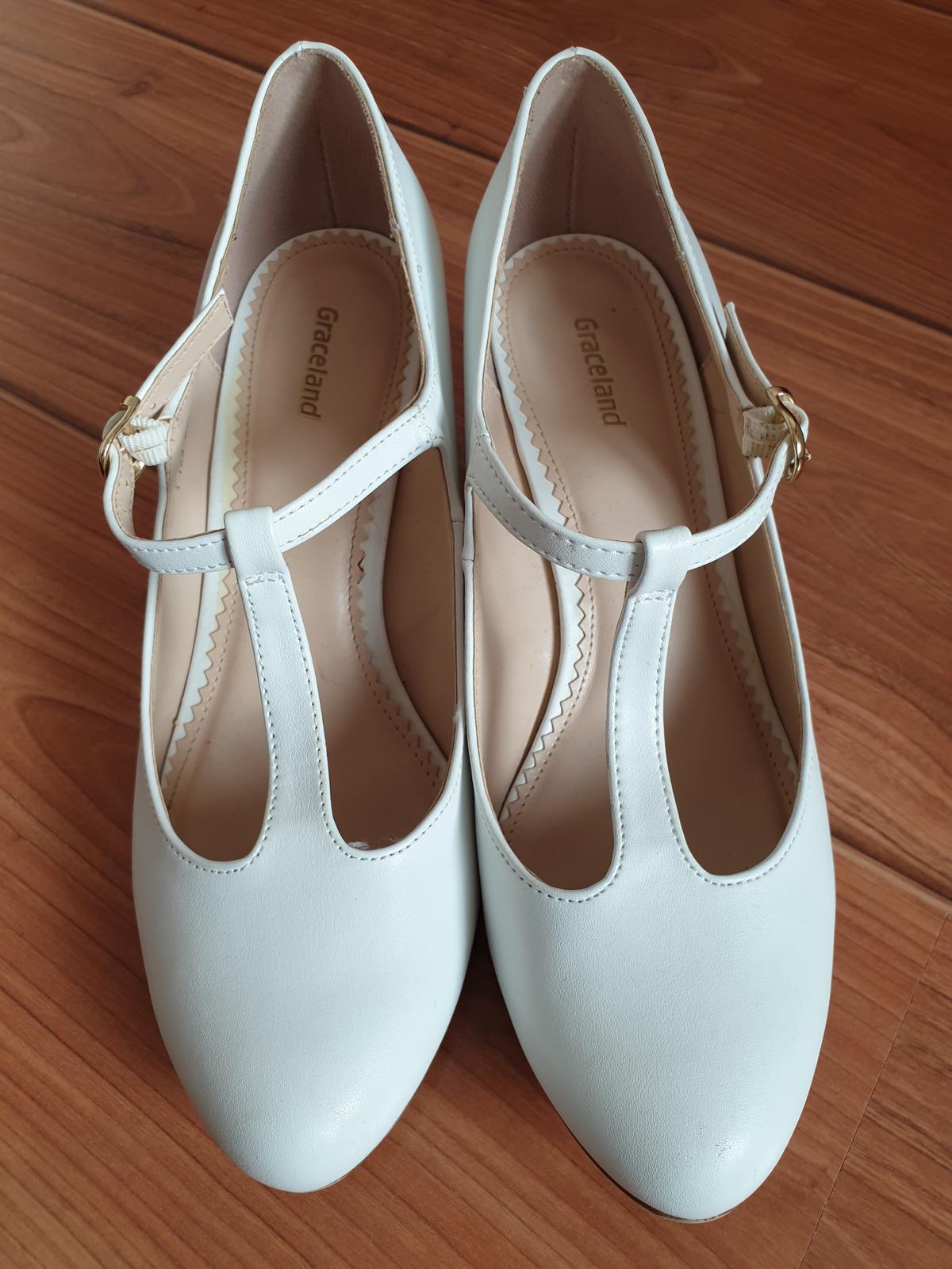 Predám svadobné topánky Graceland veľkosť 38 - Obrázok č. 2