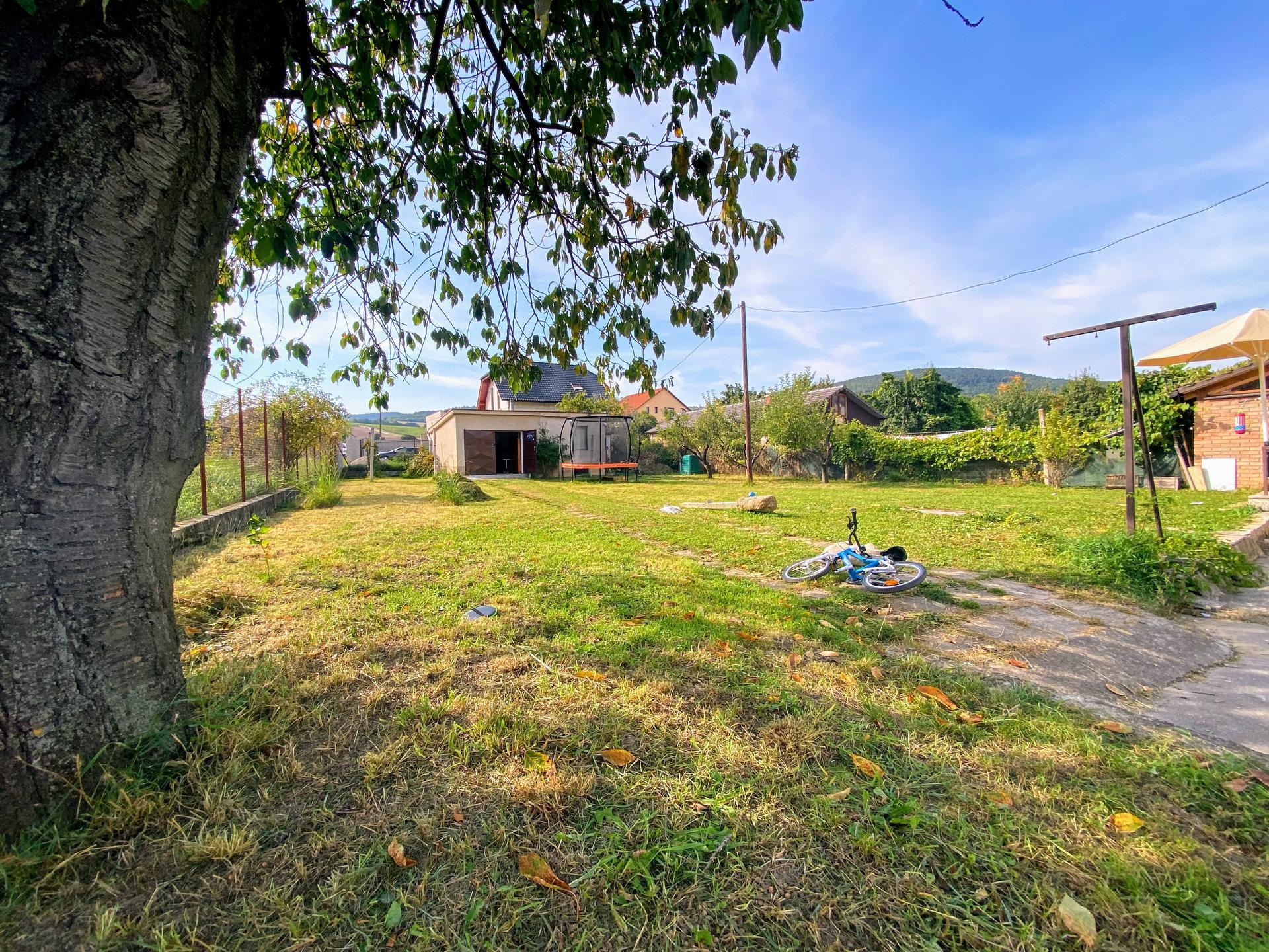 Naša cesta, náš sen - Záhrada. Dom sme kúpili s betónovými stĺpikmi po viniči a asi metrovou trávou. Dnes som slávnostne doklčovala posledný meter2 💪  A bager môže prísť 😀