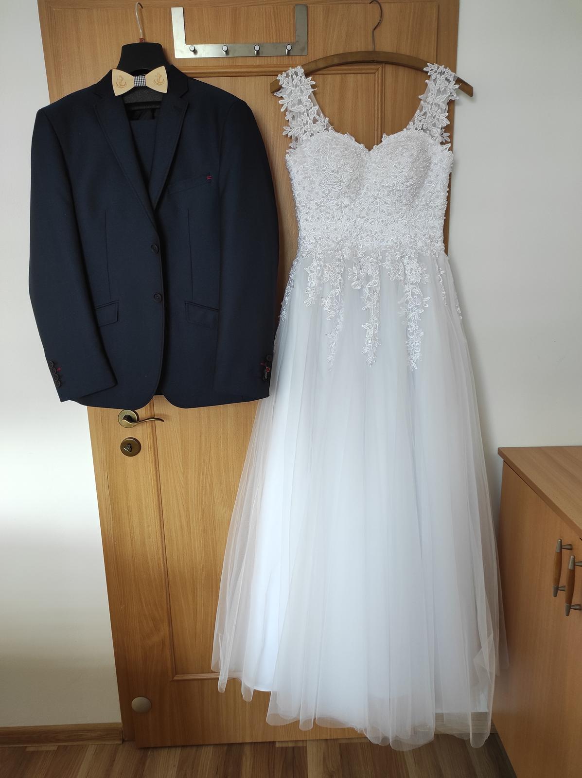 Svatební šaty vel. 34-38 - Obrázek č. 1