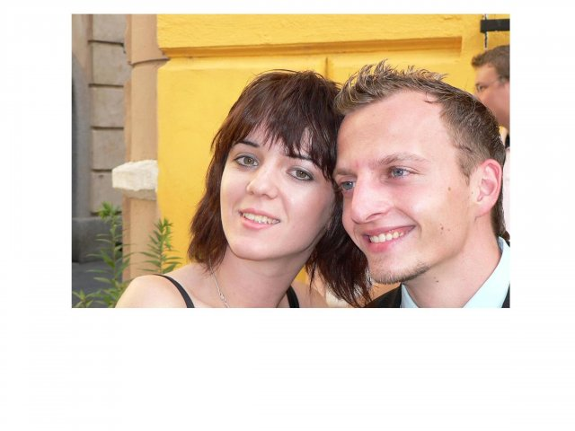 Lenka a Peťko 7.7.2007 - my dvaja