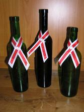 mašle na svatební víno