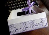 Krabička na výslužky s mašličkou,