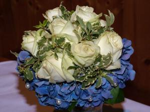 moje svatební kytička