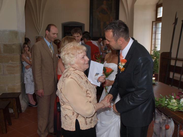 Petra N.{{_AND_}}Michal B. - Moje milovaná babička, která mi navždy odešla... :o(((