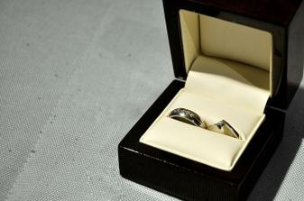 Můj snubní a zásnubní prsten