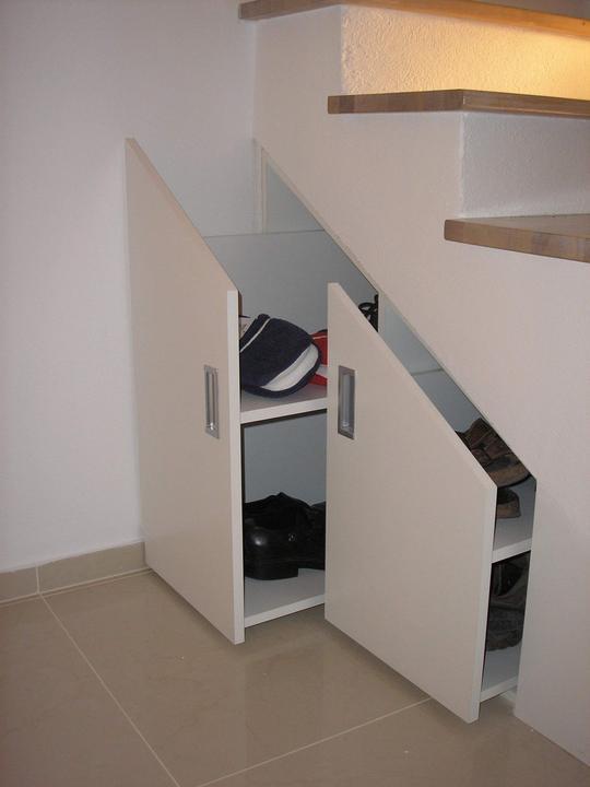 Moja práca- nábytok na mieru - úložný priestor pod schody