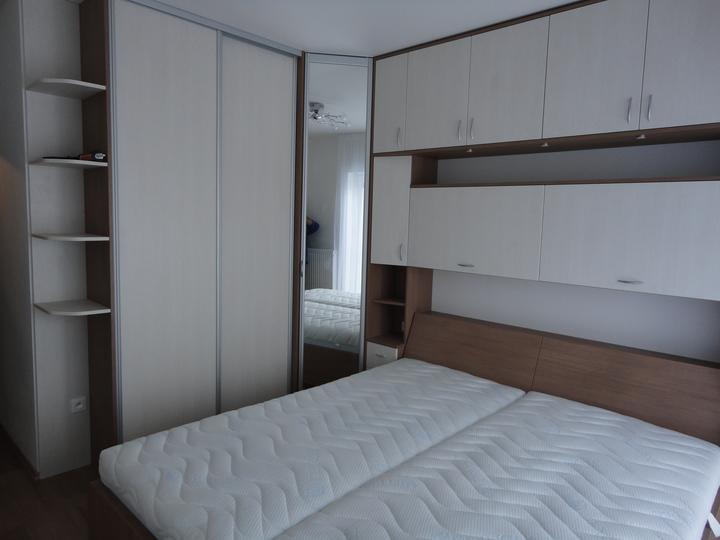 Moja práca- nábytok na mieru - spálňa