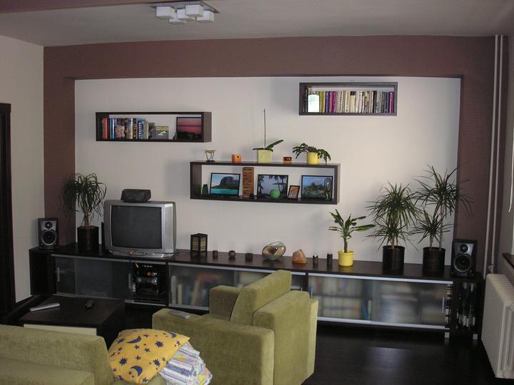 Moja práca- nábytok na mieru - obývacia stena