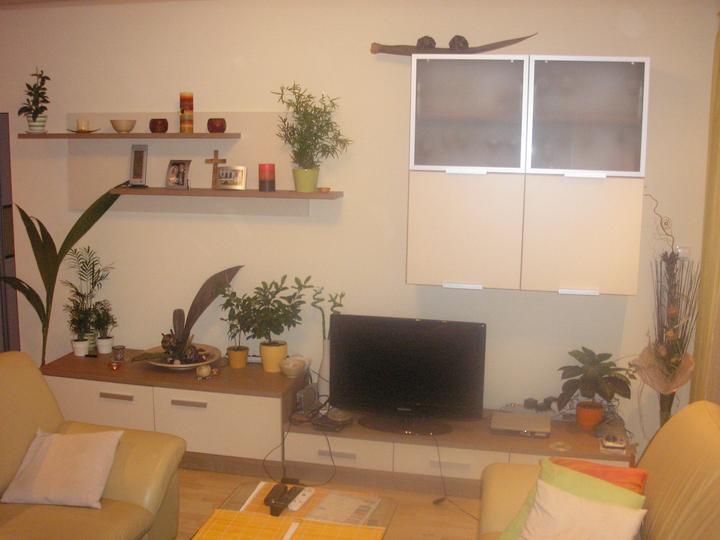 Moja práca- nábytok na mieru - obyvacia izba na mieru v rovnakom prevedeni ako kuchyna