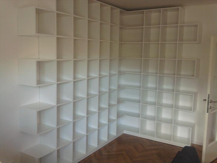Moja práca- nábytok na mieru - kniznica