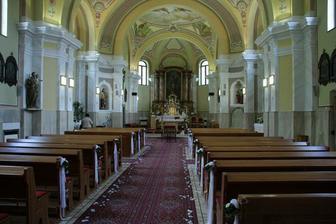 ...kostol sv. Michala v Nemšovej...