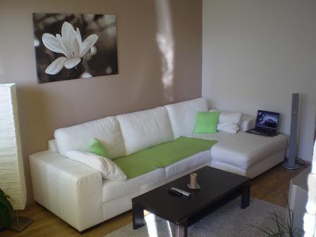 Náš byt - Pohľad na obývačku z kuchyne