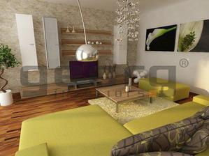 Kombinace barev v obýváčku-to chci !!!moje krevní skupina