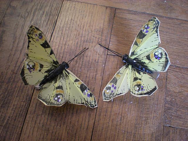 Katka a Maroš - prípravy - Motýliky do svadobnej kytice