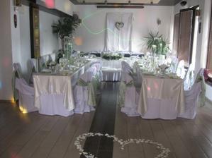 naša krásne vyzdobená sála :-)