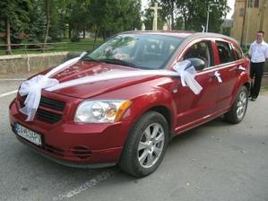 Naše svadobné fáro a náš šofér - kamarát :-) ďakujeme