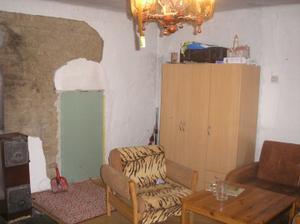 Původní stav,budoucí obývák s kuchyní