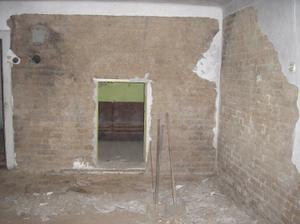 Mlácení stěn-naštěstí to jde lehce