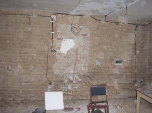 Elektrika v obýváku rozvedená