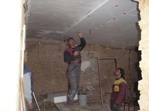 Vyrovnávání a zateplení stropu