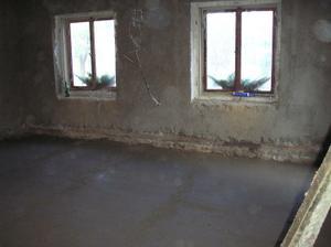 S podlahou už to konečně začíná vypadat k světu :-)