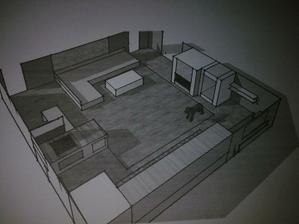 Kuchyň s obývákem :-)