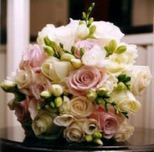 Taky hezká, ale fialové růže