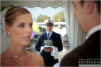 Slib - v pozadí kapitán :)