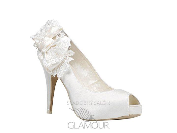 Svadobné topánky * Svadobný salón GLAMOUR, KE - MENBUR, ES model ADELA - cena 79,-Eur + poštovné a balné.