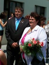 maminka s přítelem