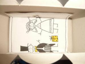 Vnitřek krabiček