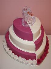 Naozaj prekrásna torta...