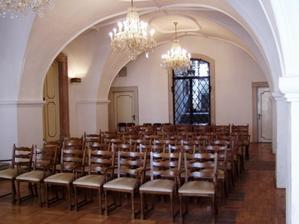 Stará radnice-Křišťálový sál