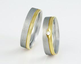 líbí se nám kombinace bílého a žlutého zlata..