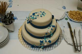 ..náš dort..