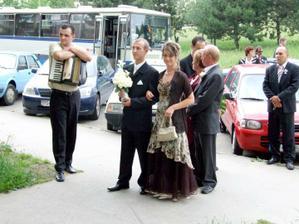 Moja láska, jeho sestra s rodičmi.