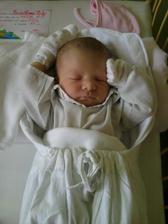 Naša krásna dcéra Nelka, narodila sa 04.06.11