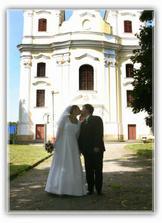 Krásný kostel a my