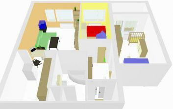 Usporiadanie nábytku po novom :)